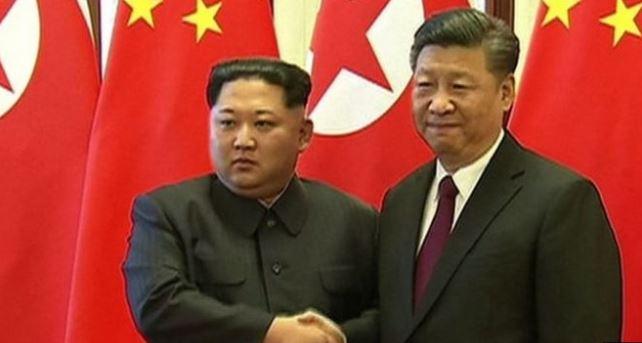 चिनियाँ राष्ट्रपति सि र उत्तर कोरियाली नेता किमबीच बेइजिङ्मा वार्ता